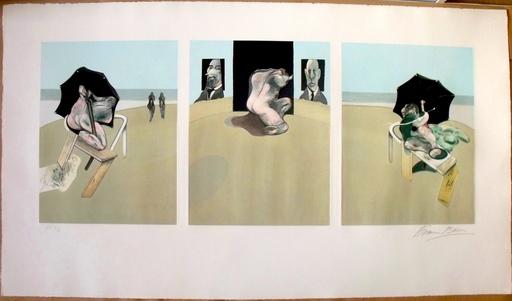 Francis BACON - Grabado - Metropolitan Triptych