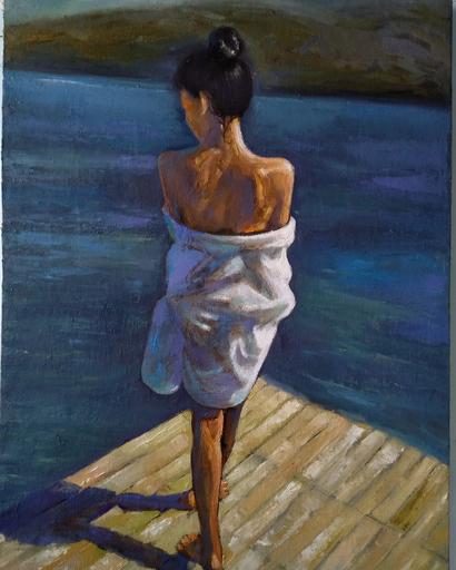 Ohanyan KAMSAR - Peinture - In summer
