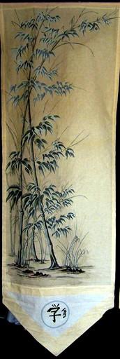 Helena KOUGARYNE - Peinture - Light bamboo
