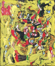 Alexandre ISTRATI - Painting - Composition Yellow