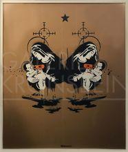 班克斯 - 绘画 - Toxic Mary, (double) Unique, signed with artist tag centre