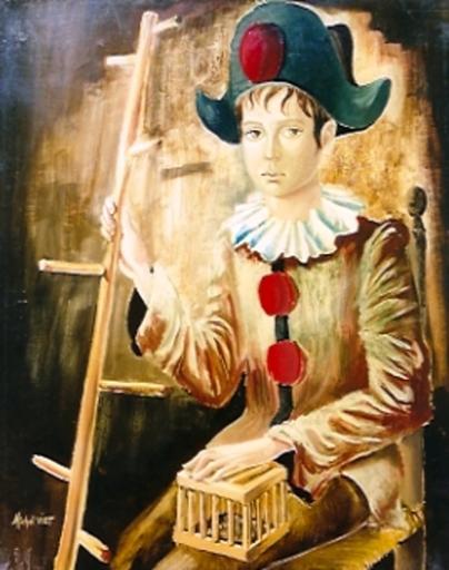 Michel VIOT - Painting - *Jester