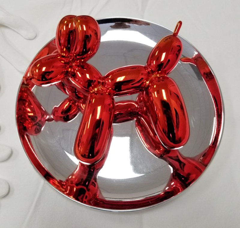Jeff KOONS - Ceramiche - Red Balloon Dog