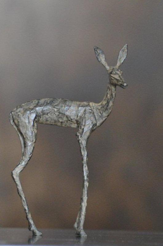 Sylvie MANGAUD - Sculpture-Volume - Biche