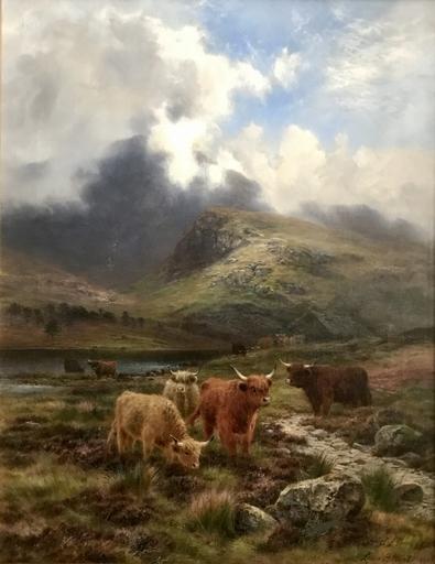 Louis Bosworth HURT - Painting - My Highland Fold