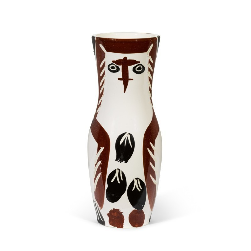 Pablo PICASSO - Ceramic - Chouette