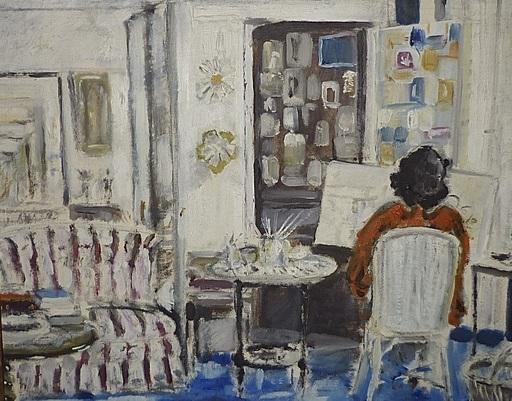 Bena Frank MAYER - Gemälde - L'Atelier