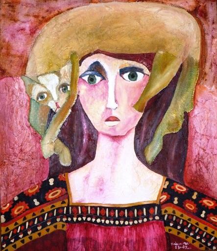 Sandra DOOLEY - Pintura - Sombrero Mel (Mel Hat)