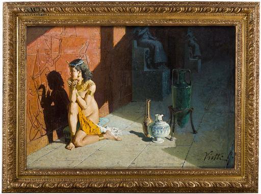 Giulio VIOTTI - Pintura - scena orientale