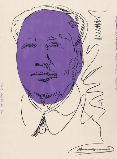 Andy WARHOL - Print-Multiple - Mao