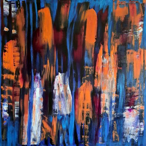 Patrick JOOSTEN - Peinture - Ondulant
