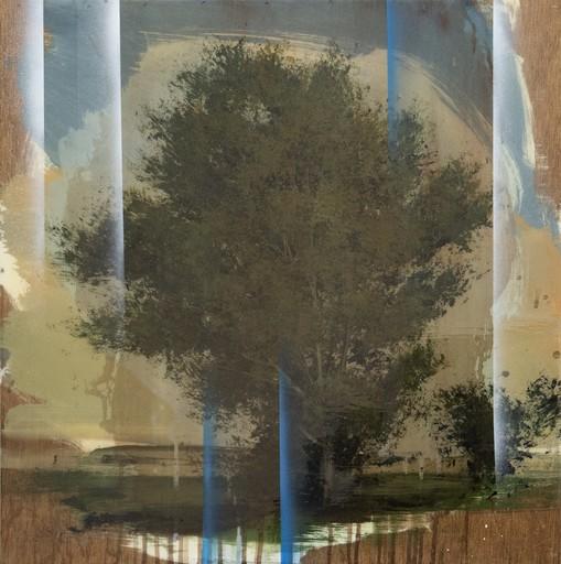 Peter HOFFER - Peinture - Blue Halo