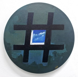 Damir MURATOV - Painting - Lattice-2