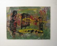 Joseph DUNCAN - Peinture - Germinazione, 1954