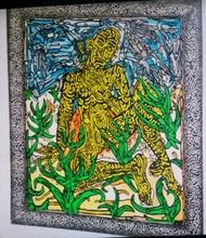 "Robert COMBAS - Print-Multiple - Robert COMBAS  ""L'homme jaune"""