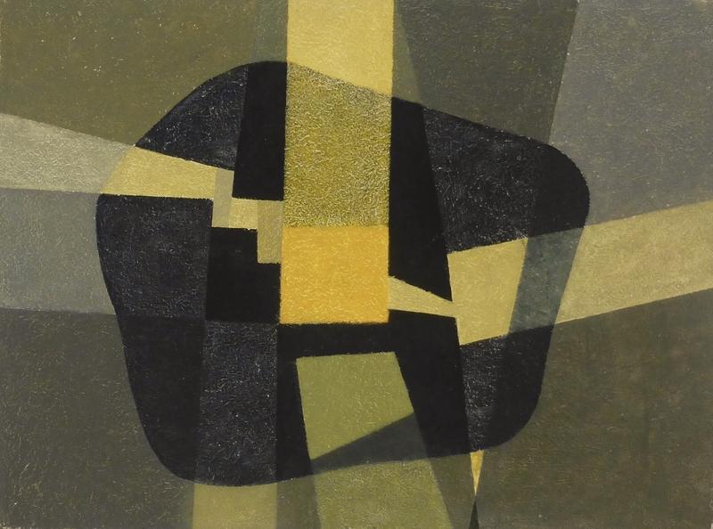Rudolf JAHNS - Peinture - Wege ins Zentrum