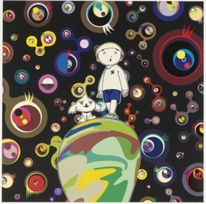 Takashi MURAKAMI, Jellyfish Eyes, Max and Shimon in the Strange Forest