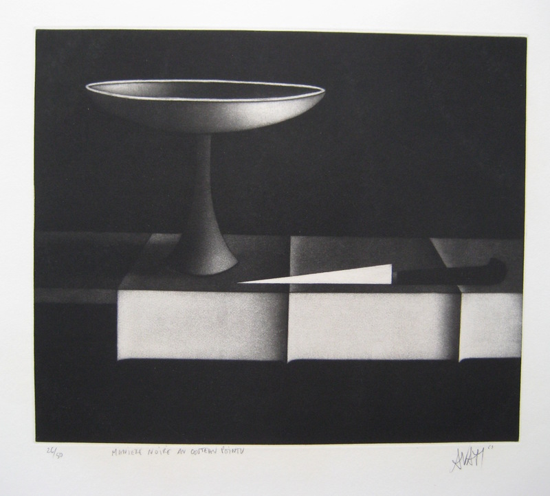 Mario AVATI - Druckgrafik-Multiple - GRAVURE 1963 SIGNÉE AU CRAYON NUM/50 HANDSIGNED NUMB ETCHING
