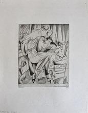 Jean Émile LABOUREUR - Print-Multiple - Bachelor's Fare