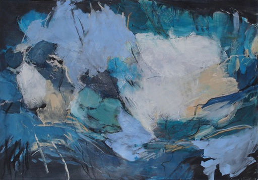 Sylvia GRAUER - Painting - immer nie am meer