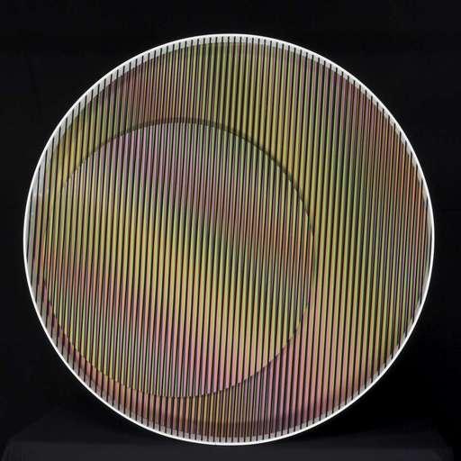 Carlos CRUZ-DIEZ - Sculpture-Volume - Cromointerferencia mecanica nova 6