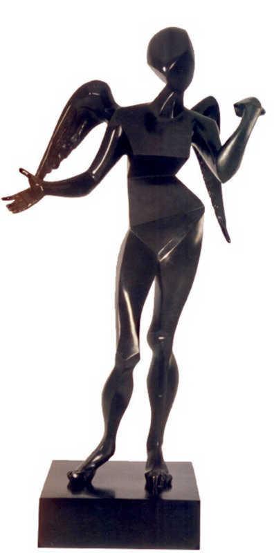 Salvador DALI - Escultura - Cubist Angel