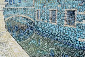 Tobia RAVA - Print-Multiple - Venezia celeste