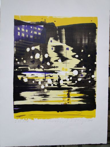 Reinhard STANGL - Print-Multiple - City II
