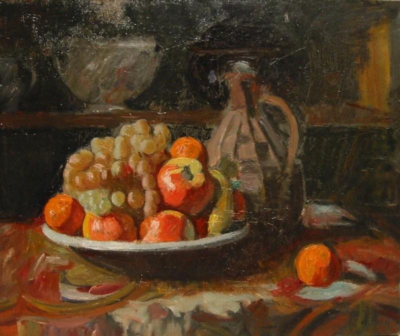Jean PUY - Gemälde - Natura morta con brocca, 1914