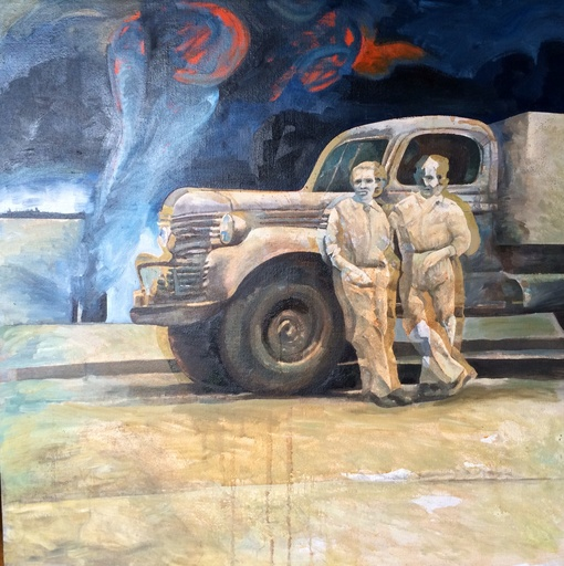 Robert DRAGOT - Pintura - Just fefore the storm