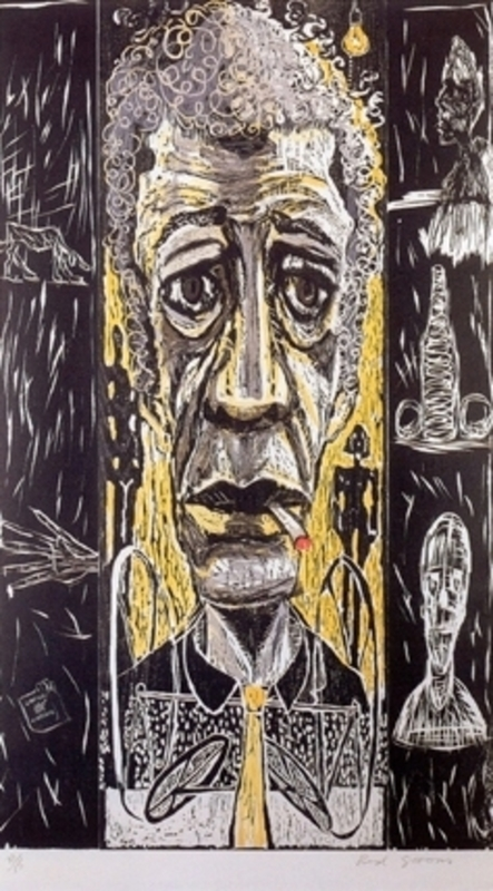 Red GROOMS - Grabado - Giacometti