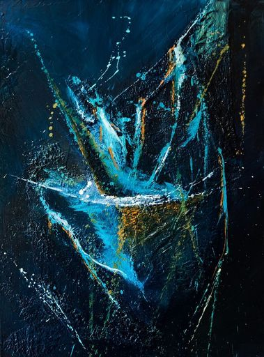 Françoise DUGOURD CAPUT - Painting - Oceanide