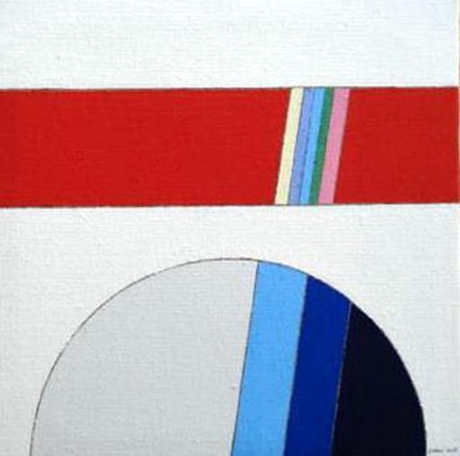 Eugenio CARMI - Painting - La via maestra