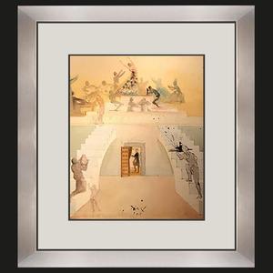 Salvador DALI - Pintura - Triumph of the Toreador (Lillas Pastia's Tavern from Carmen)