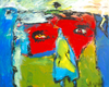 Lia GALLETTI - Painting - JOSHUA SEED