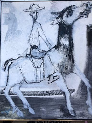 Bernard LORJOU - Pintura - untitled