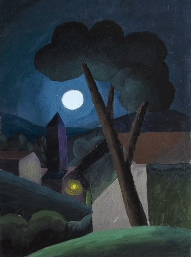 SALVO - Pittura - Notturno