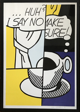 Roy LICHTENSTEIN - Estampe-Multiple - Huh?