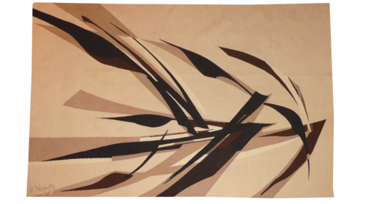 Robert WOGENSKY - Tapiz - oiseaux de septembre