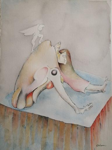 Gerardo CHAVEZ - 水彩作品 - Composition 1