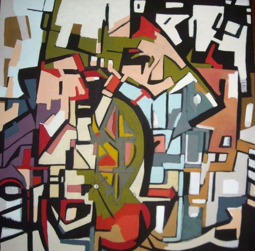 """Frédérique MANLEY - Painting - """"le raccourci"""""""