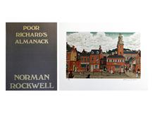 诺曼•洛克威尔 - 版画 - Poor Richard's Almanack