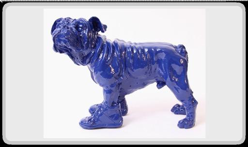 """William SWEETLOVE - Sculpture-Volume - """"Cloned bouly blue""""     numéroté et signé"""