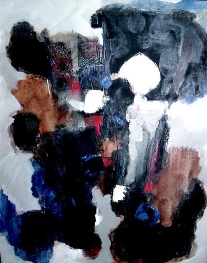 Jun DOBASHI - Peinture - Composition,1962