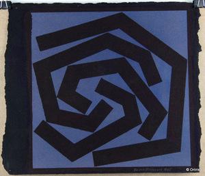 Bruno ROUSSELOT - Disegno Acquarello - D (lavis Delta)