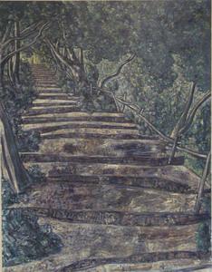 Vincent BIOULES, L'escalier de Meaulx