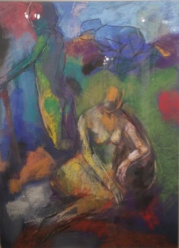 Denis RIVAL - Disegno Acquarello - Les Dames du temps jadis