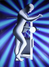 Mark KOSTABI - Painting - The Re-Articulation of the Feminine Form