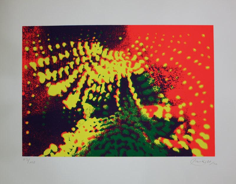 Otto PIENE - Print-Multiple - Lichtballett V