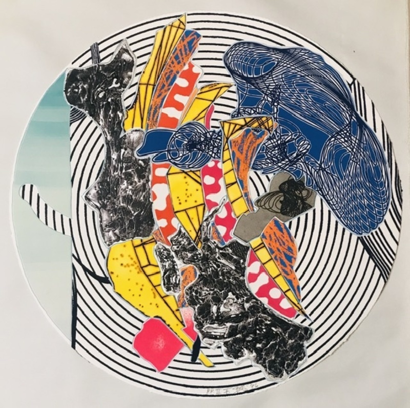 Frank STELLA - Print-Multiple - Egyplosis